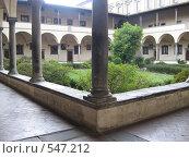Италия, дворик музея во Флоренции (2008 год). Стоковое фото, фотограф Anna Marklund / Фотобанк Лори