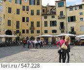 В городе Люкка, Италия (2008 год). Стоковое фото, фотограф Anna Marklund / Фотобанк Лори