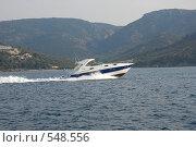 Купить «Морская прогулка на катере», эксклюзивное фото № 548556, снято 30 июня 2008 г. (c) Svet / Фотобанк Лори
