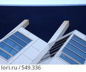 Купить «Офисное здание, крыша», фото № 549336, снято 26 октября 2008 г. (c) Алла Кригер / Фотобанк Лори