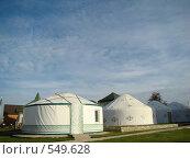 """Культурный комплекс """"Национальная деревня"""". Казахский двор. Оренбург, фото № 549628, снято 2 января 2007 г. (c) Geo Natali / Фотобанк Лори"""
