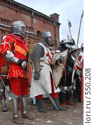 Рыцари в строю (2007 год). Редакционное фото, фотограф Сергей Юрченко / Фотобанк Лори