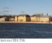 Вид на Меншиковский дворец (2008 год). Стоковое фото, фотограф Виктор / Фотобанк Лори