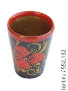 Купить «Деревянный стакан», фото № 552132, снято 23 июля 2008 г. (c) sav / Фотобанк Лори