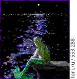 Русалочка. Стоковая иллюстрация, иллюстратор Самойлова Татьяна / Фотобанк Лори