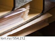 Купить «Папки с документами», фото № 554212, снято 28 июля 2006 г. (c) Кравецкий Геннадий / Фотобанк Лори