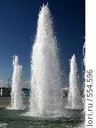 Купить «Фонтан г.Ялта, набережная.», эксклюзивное фото № 554596, снято 6 сентября 2004 г. (c) Дмитрий Неумоин / Фотобанк Лори