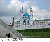 Купить «Казань, Кул Шариф, мечеть», фото № 555764, снято 31 мая 2008 г. (c) Виталий Романович / Фотобанк Лори