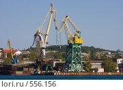 Купить «Краны», фото № 556156, снято 1 мая 2008 г. (c) Argument / Фотобанк Лори