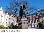 Купить «Памятник королю Даниле», фото № 556452, снято 30 октября 2008 г. (c) Kate Kovalenko / Фотобанк Лори