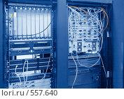 Купить «Телекоммуникационное оборудование», фото № 557640, снято 16 ноября 2007 г. (c) Сергей Байков / Фотобанк Лори