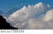 Купить «Облака и горы», фото № 559616, снято 5 августа 2008 г. (c) Vladimir Fedoroff / Фотобанк Лори