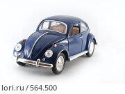 Купить «Volkswagen Beetle 1967», фото № 564500, снято 16 ноября 2008 г. (c) Vadim Tatarnitsev / Фотобанк Лори
