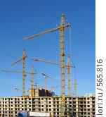 Купить «Большая стройка», фото № 565816, снято 7 ноября 2008 г. (c) Тимофеев Павел / Фотобанк Лори