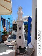 Купить «Греция, остров Санторини,улица», эксклюзивное фото № 565828, снято 11 августа 2008 г. (c) Яна Королёва / Фотобанк Лори