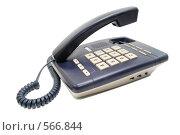 Купить «Телефонный аппарат на белом фоне», фото № 566844, снято 14 ноября 2008 г. (c) Валерий Александрович / Фотобанк Лори