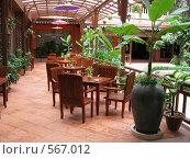 Фото ресторана. Отель. Камбоджа (2008 год). Редакционное фото, фотограф Николаенкова Светлана / Фотобанк Лори