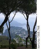 Купить «Остров Капри, Италия, Вид на г. Капри.», фото № 568744, снято 7 июня 2008 г. (c) EVA / Фотобанк Лори