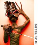 Инопланетный агрессор. Стоковое фото, фотограф Дмитрий Хрусталев / Фотобанк Лори