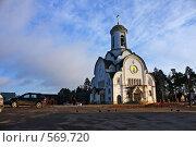 Купить «Опалиха, Церковь Елисаветы Феодоровны», эксклюзивное фото № 569720, снято 3 ноября 2008 г. (c) Яна Королёва / Фотобанк Лори