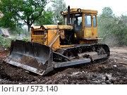 Гусеничный трактор (2008 год). Редакционное фото, фотограф Абудеев Дмитрий / Фотобанк Лори