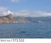 Морской пейзаж. Балаклава (2006 год). Стоковое фото, фотограф Ксения Андраманова / Фотобанк Лори