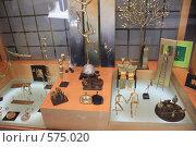Купить «Греция, остров Санторини, сувенирный магазин», эксклюзивное фото № 575020, снято 11 августа 2008 г. (c) Яна Королёва / Фотобанк Лори