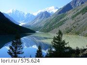 Купить «Алтай. Озеро Маашей», фото № 575624, снято 20 марта 2007 г. (c) Игорь Потапов / Фотобанк Лори