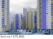 Строительство нового микрорайона в Химках, фото № 575860, снято 21 ноября 2008 г. (c) Андрей Ерофеев / Фотобанк Лори