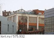 Купить «Фабрика Зингера в Подольске», фото № 575932, снято 13 ноября 2008 г. (c) Цветков Виталий / Фотобанк Лори
