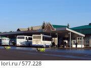 Купить «Заводоуковск. Автовокзал», фото № 577228, снято 15 ноября 2008 г. (c) Александр Тараканов / Фотобанк Лори