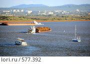 Купить «Река Амур. Хабаровск», эксклюзивное фото № 577392, снято 7 сентября 2008 г. (c) Катерина Белякина / Фотобанк Лори