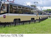 Московские трамваи (2008 год). Стоковое фото, фотограф Лукаш Дмитрий / Фотобанк Лори