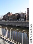 Купить «Здание центральной ТЭЦ-1 на Обводном канале в Петербурге», фото № 578720, снято 28 марта 2007 г. (c) Александр Секретарев / Фотобанк Лори