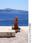 Купить «Сфинкс на острове Санторини», эксклюзивное фото № 579048, снято 11 августа 2008 г. (c) Яна Королёва / Фотобанк Лори
