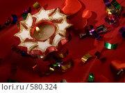 Купить «Новогодние украшения», фото № 580324, снято 17 декабря 2005 г. (c) Кравецкий Геннадий / Фотобанк Лори