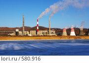 Купить «Артем-ГРЭС (Приморский край)», фото № 580916, снято 23 ноября 2008 г. (c) Елена Климовская / Фотобанк Лори