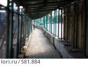 Временный переход. Стоковое фото, фотограф Кирилл Чернов / Фотобанк Лори