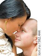 Купить «Влюбленная пара», фото № 582444, снято 9 октября 2008 г. (c) Ольга Красавина / Фотобанк Лори