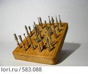 Купить «Стоматологические боры», фото № 583088, снято 10 октября 2008 г. (c) Алексей Алексеев / Фотобанк Лори