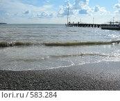 Купить «Морской пейзаж в Геленджике», фото № 583284, снято 19 сентября 2008 г. (c) Анна Белова / Фотобанк Лори