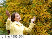Купить «На сцене - осень», фото № 585304, снято 1 октября 2008 г. (c) Мирослава Безман / Фотобанк Лори