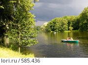Купить «Прогулка на лодке», фото № 585436, снято 29 июня 2008 г. (c) Павлова Татьяна / Фотобанк Лори
