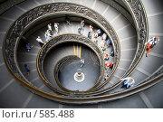 Лестница Момо музеев Ватикана (2006 год). Редакционное фото, фотограф Кирилл Дорофеев / Фотобанк Лори