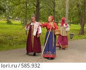 Купить «Встреча гостей», фото № 585932, снято 28 июля 2006 г. (c) Сергей Разживин / Фотобанк Лори