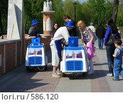 Купить «Торговля мороженым в парке Царицыно», эксклюзивное фото № 586120, снято 4 мая 2008 г. (c) lana1501 / Фотобанк Лори