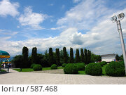 Купить «Нальчик. На горе Кизиловка», фото № 587468, снято 22 июня 2008 г. (c) Александр Тараканов / Фотобанк Лори
