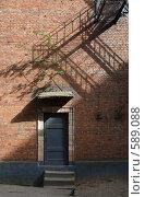 Купить «Секретная дверь», фото № 589088, снято 30 мая 2008 г. (c) Юрий Синицын / Фотобанк Лори