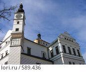 Фрагмент замка в Пардубице (2006 год). Стоковое фото, фотограф Наталья Ничепорук / Фотобанк Лори