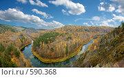 Купить «Новосибирская область. Река Бердь. Осень.», фото № 590368, снято 7 октября 2007 г. (c) Барковский Семён / Фотобанк Лори